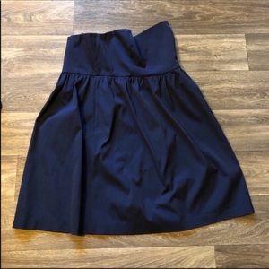 J. Crew blue strapless dress